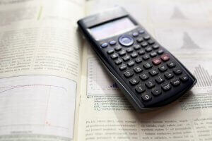Scientific Calculator on paper