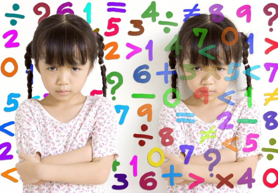 Asian girl math confusion