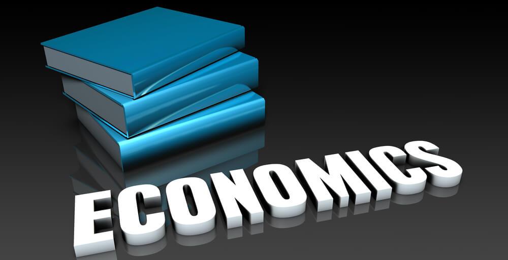 Economics Class with school books